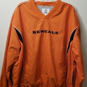 Cincinnati Bengals pullover jacket